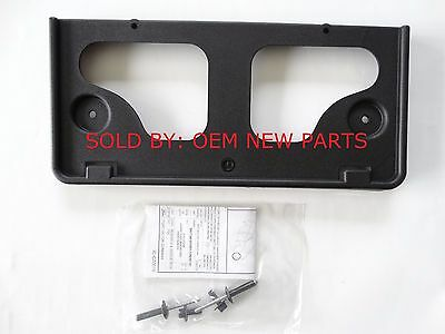 NEW OEM 2015-2018 Ford Edge Front Bumper License Plate Bracket Mount
