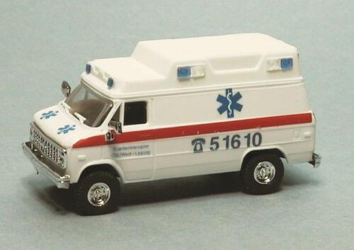 H0 Trident 90291 malati tran Port Lipsia-ambulanza