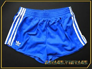 ADIDAS SPRINTER D6 blau Sporthose Shorts 80er TRUE VINTAGE