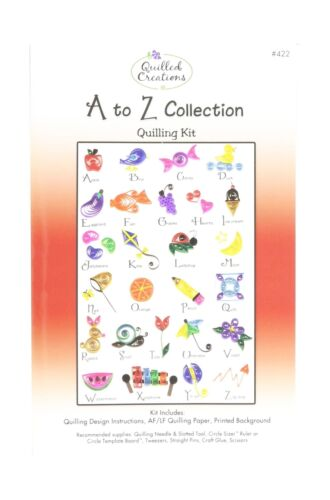 Quilled Creations Q422 A to Z Collection Quilling Kit