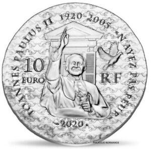 FRANCE-10-EURO-BELLE-EPREUVE-ARGENT-2020-FEMMES-SOEUR-EMMANUELLE-2500-EX-RARE