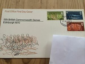 1970 Royal Mail First Day Cover IXth Commonwealth Games Edinburgh 1970 - <span itemprop='availableAtOrFrom'>York, United Kingdom</span> - 1970 Royal Mail First Day Cover IXth Commonwealth Games Edinburgh 1970 - York, United Kingdom