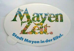 Souvenir-Aufkleber Mayen Vulkaneifel Koblenz Nice Rhineland-Palatinate 80er