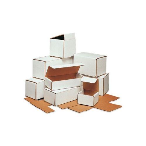 6 x 5 x 3 Corrugated Mailers White 50//Bundle