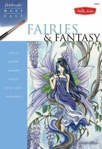 NEW-Fairies-amp-Fantasy-Watercolor-Made-Easy-9781600581410-by-Dillman-Meredith