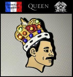 1-Pins-NEUF-en-Metal-Brooch-Freddie-Mercury-Queen-Rock