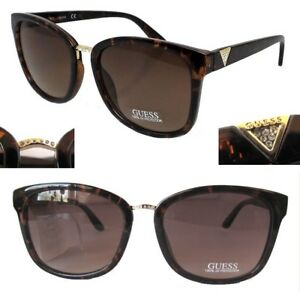 4e42eb2ed5ff Image is loading New-GUESS-GF0327-Amber-Brown-Womens-Sunglasses