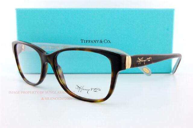 6e7b9a19e10 Brand New Tiffany Eyeglass Frames 2084 8015 Havana SZ 55 Women 100%  Authentic