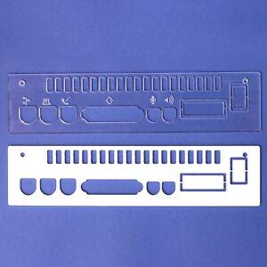 Apple-Macintosh-Color-Colour-Classic-LC575-Mystic-039-Panel-Laser-Cut-Rear-Cover