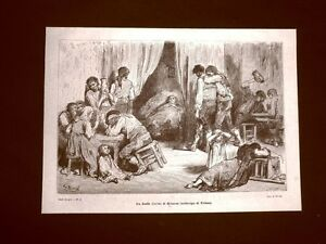 Incisione-di-Gustave-Dore-del-1874-Duelo-o-lutto-di-Gitanos-sobb-Triana-Spagna