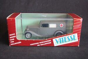 "Vitesse Mercedes-Benz 170 Van ""Ambulance"" (Wehrmacht) 1:43 #351 (JS)"