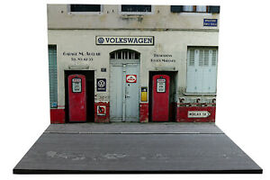 Diorama Garage Volkswagen - 1/18ème - #18-2-e-e-015 Clair Et Distinctif