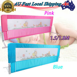 Child-Toddler-1-5-1-8M-Safety-Bed-Rail-Baby-Bedrail-Fold-Cot-Guard-Protection-AU