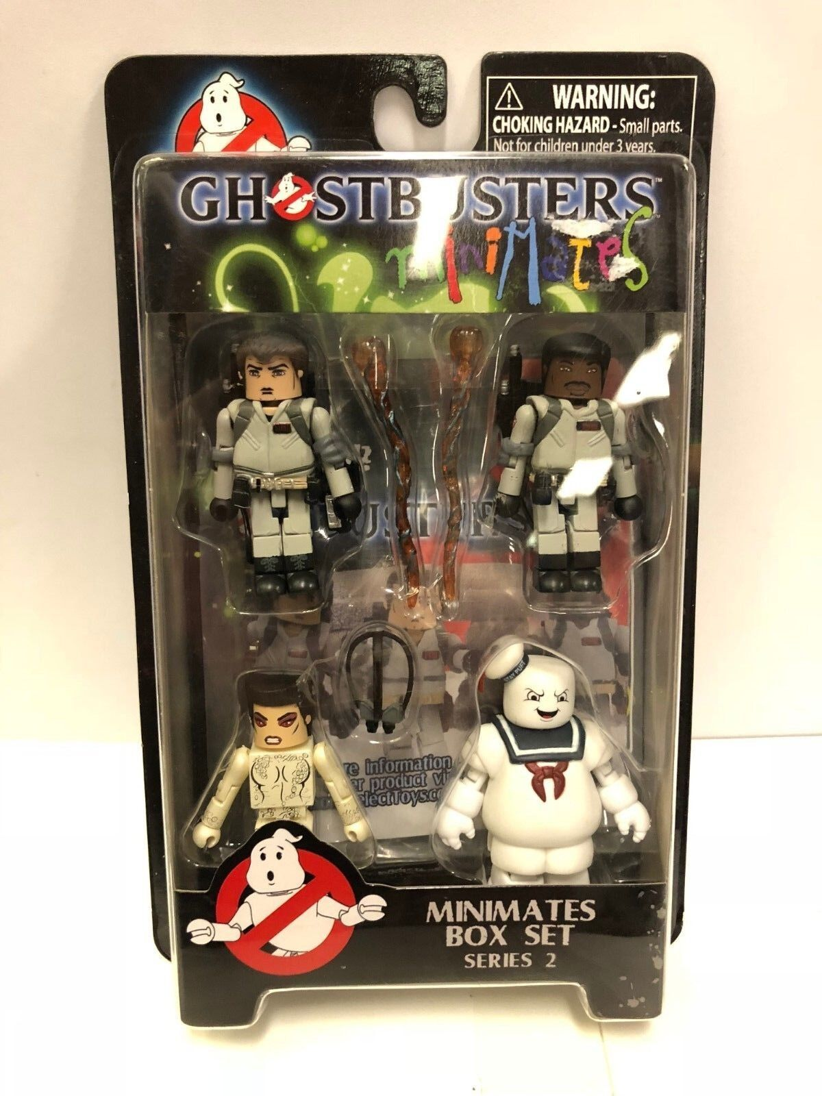 Ghostbusters MiniMates Box Set Series 2 Figure Set Diamond Select 2009