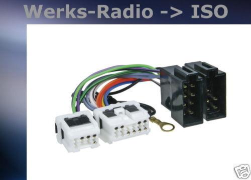 = Radioanschlusskabel Adapter passend für Nissan  321214-02 ~