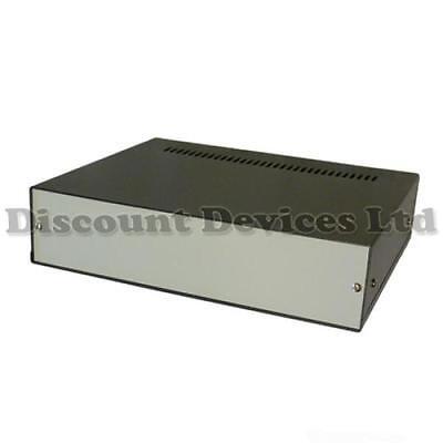 25x20x6cm Professional Quality Aluminium Enclosure/Project Desk Box/Electronic