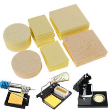 New Listing10pcs Cleaning Sponge For High Temperature Resistant Soldering Iron Solder Tv