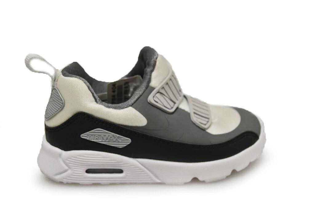 Spädbarn Nike Air Max Tiny 90 (TD) - 881924 005 - Svart Grå BNIB INGEN LID