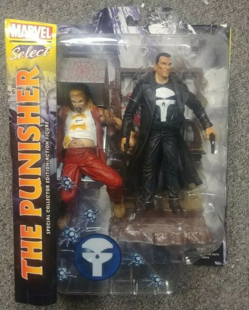Marvel Select - The Punisher Frank Castle By Diamond Select (MISP)
