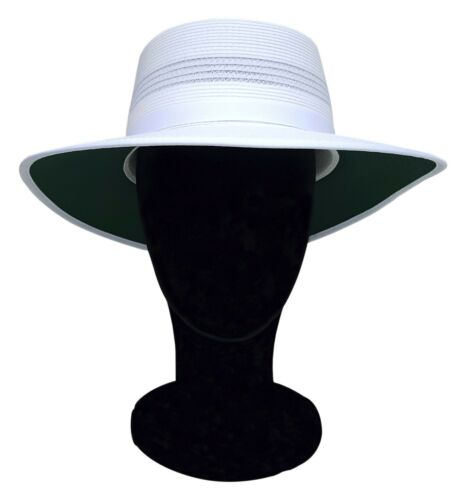 REO coiffure Camelia Femmes Sports Blanc chapeau été Turn Up Bord S-L