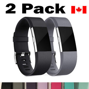 For-Fitbit-Charge-2-Bands-Replacement-Wrist-Strap-Silicone-Smart-Watch-Band-S-L