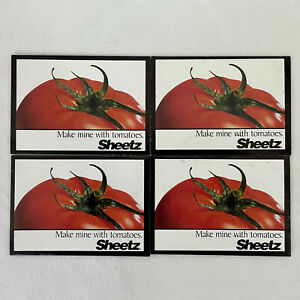 4 Sheetz MTO Made To Order Tomato Seed Packets ~ Convenience Store