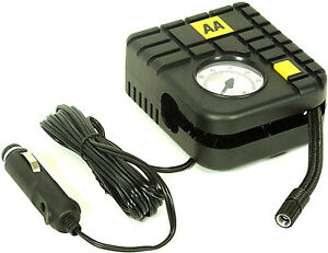 Car-Van-Tyre-Inflator-Kit-Compact-Electric-Pump-Inflators-Pumps-Travel-AA-12V