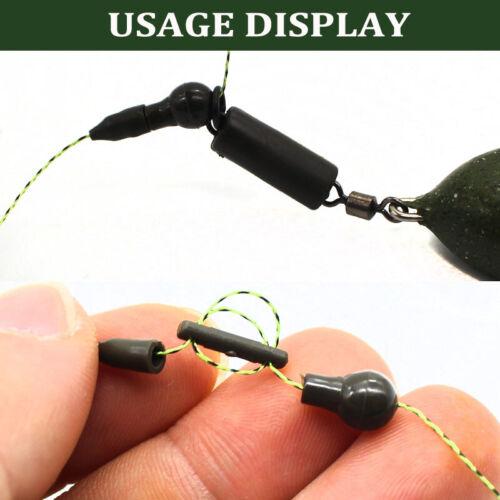 20 Set Quick Change Beads Hook Links Method Feeder Beads Carp Fishing Tackle