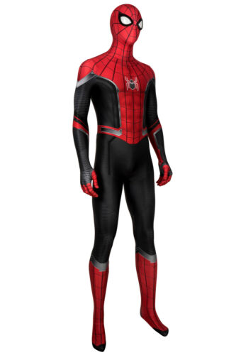 Spider-Man Far From Home Peter Parker Jumpsuit Costume Cosplay Halloween