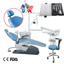 Dental Unit Chair Hard Leather Computer Controlled Dc Motor Handpiece Kit 4h Or