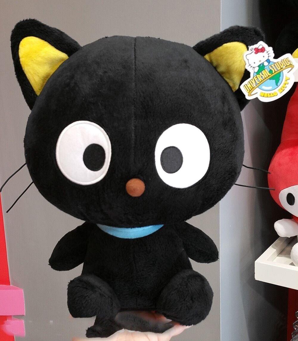 "Hello Kitty Sanrio Univesal Studios Plush Toy 16"" Chococat Black Cat"