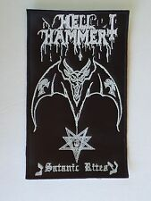 HELLHAMMER SATANIC RITES  EMBROIDERED PATCH