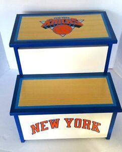 Wondrous Details About New York Knicks Ny Knicks Nba Storage Step Stool With Storage Guidecraft Usa New Creativecarmelina Interior Chair Design Creativecarmelinacom