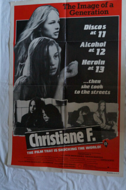Christiane F. - RARE & COLLECTABLE MOVIE POSTER
