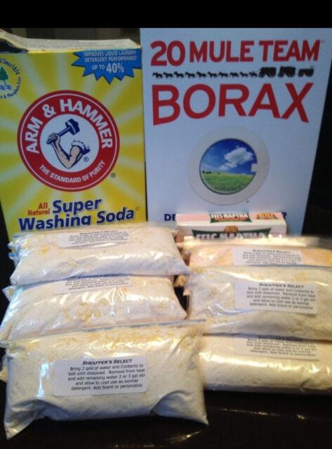 Zote Washing Soda Borax Homemade