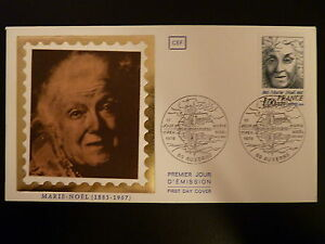 Stamps France Premier Jour Fdc Yvert 1986 Marie Noel 1+0,20f Auxerre 1978 Refreshing And Beneficial To The Eyes