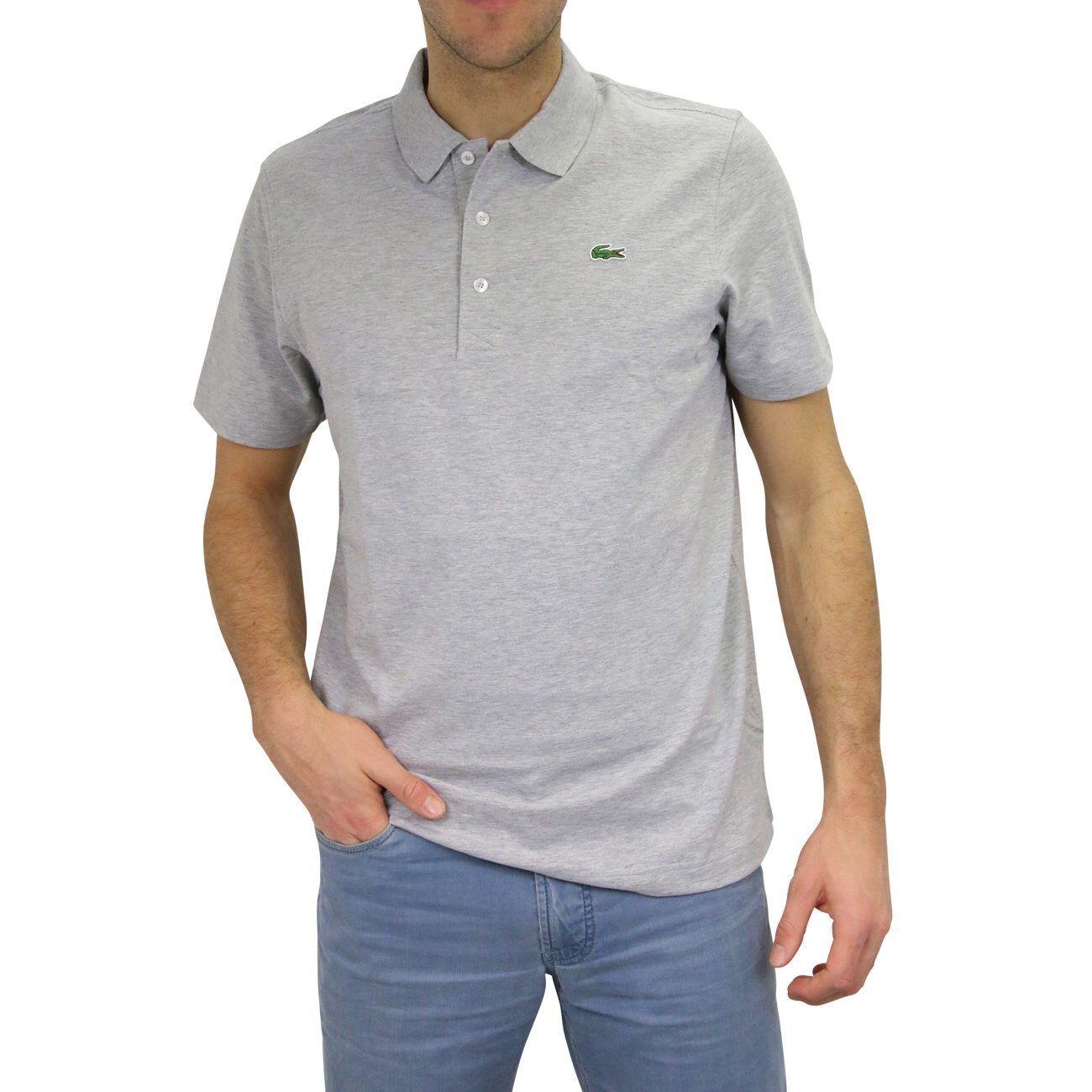 Lacoste Regular Fit Polo Poloshirt Polohemd Kurzarm Baumwolle Herren L1230 CCA