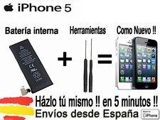 BATERIA INTERNA DE IPHONE 5  KIT HERRAMIENTAS REEMPLAZO nuevas