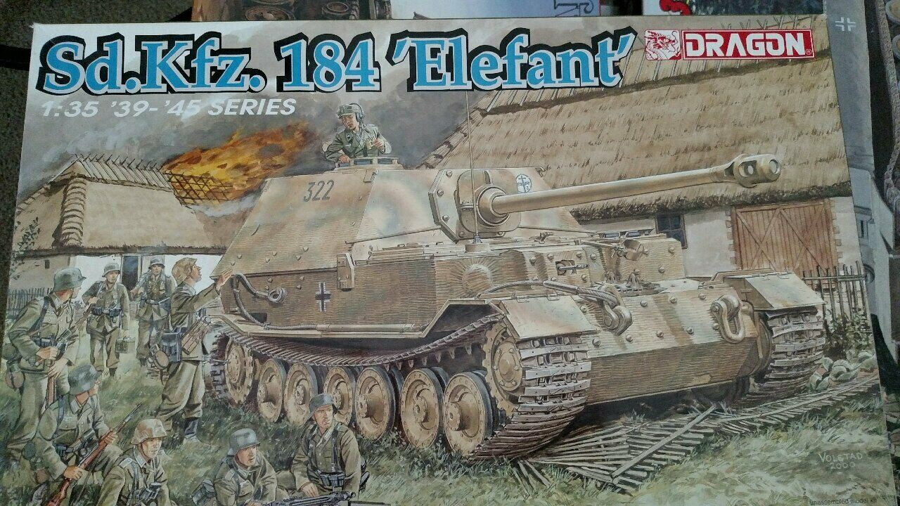 Dragon 1 35 Scale KIT Sd.Kfz.184 ELEFANT