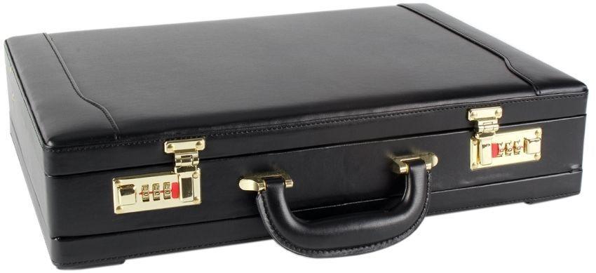 Executive Faux Leather Business Briefcase Attache Travel Case Work Bag  | Förderung