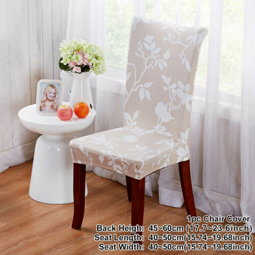 Spandex Stretch Wedding Chair Cover Banquet Party Decor Dining Room Seat Covers