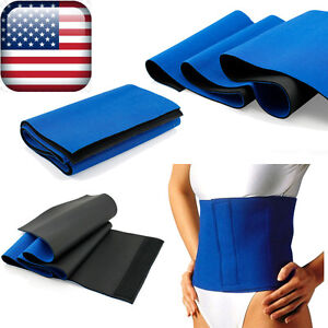 Waist-Trimmer-Exercise-Wrap-Belt-Slimming-Burn-Fat-Sweat-Weight-Loss-Body-Shaper
