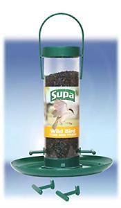 "Supa Niger Seed 4 Port Feeder 8"" with Tray | eBay"