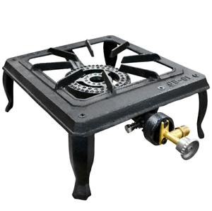 Portable Cooker Single Burner Cast Iron