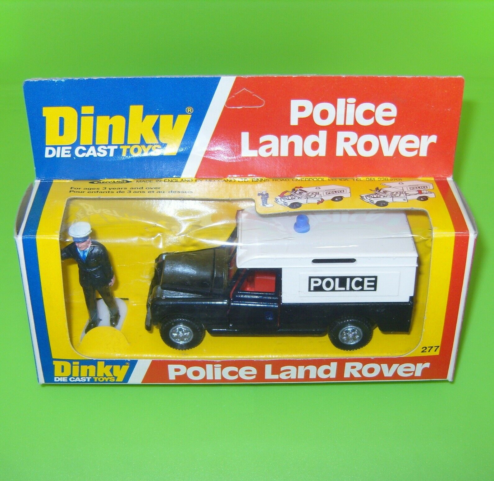 DINKY 277 POLICE Land Rover boxed