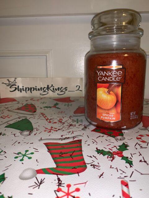 Yankee Candle Honey /& Spice 22 OZ 1 Single Nuevo Nuevo Otoño Aroma envío gratuito. approx. 623.68 g