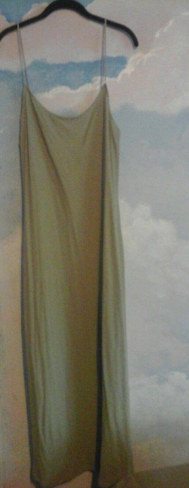 Ralph Lauren Sport Dress in 89% Cotton 11% Other fiber in a Pale Apple Grün, XL