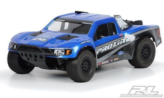 Proline Flo-Tek Ford F-150 Raptor SVT Karo für Slash 4x4, SC10 .