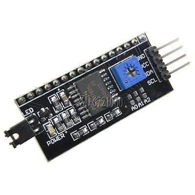 IIC/I2C/TWI/SPI Serial Interface Board Module Port for Arduino 1602LCD Display