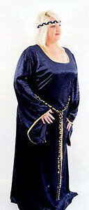 MEDIEVAL-SCA-HISTORICAL-RE-ENACTMENT-LARP-COSPLAY-Plus-Sized-Medieval-Lady